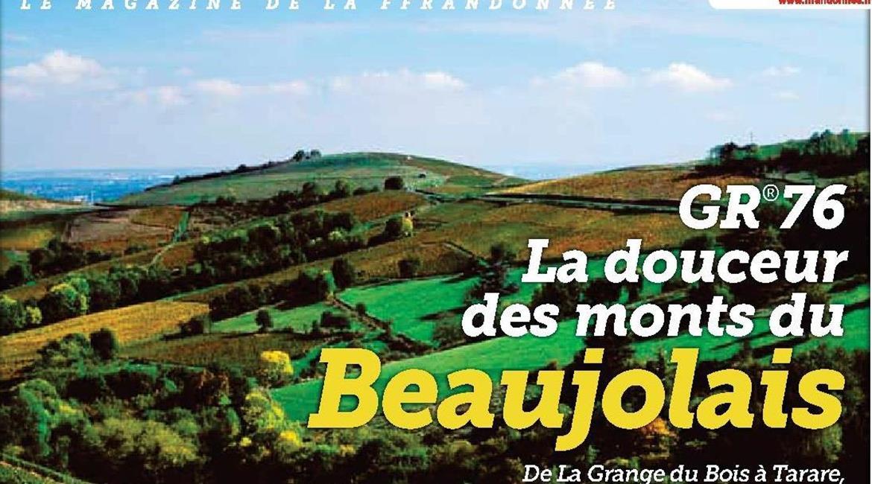 GR76 : la douceur des monts du Beaujolais