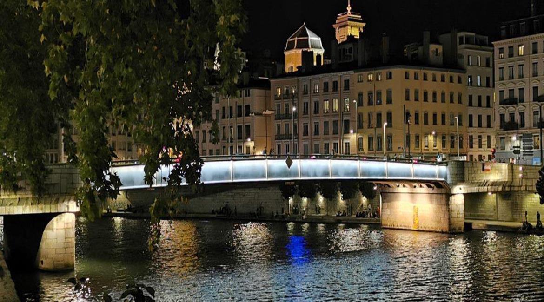 Balades nocturnes par les ponts de lumière Lyonnais