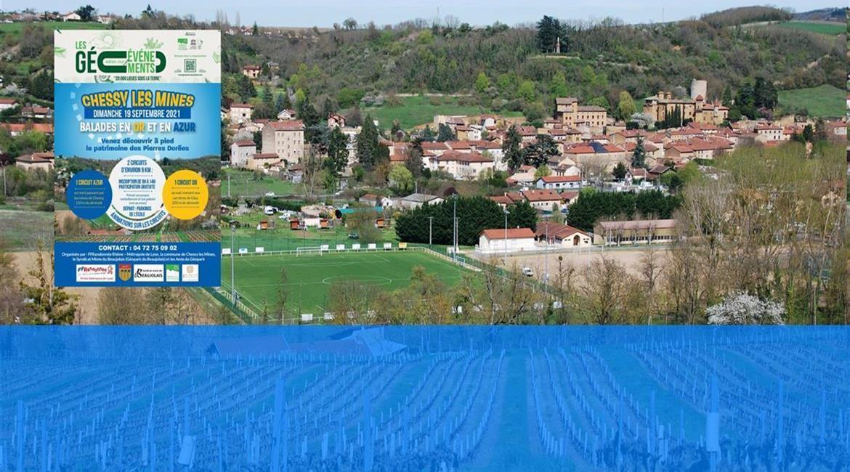 Balades en Or et en Azur - Dimanche 19 septembre 2021 - Chessy Les Mines (69)