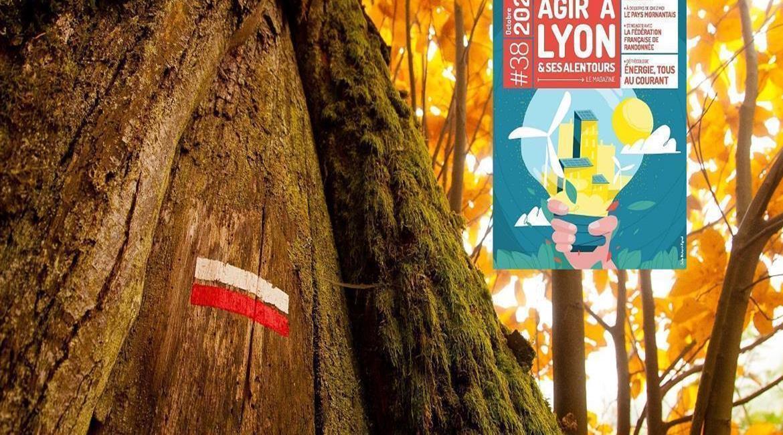 On parle de nous dans le Magazine Agir à Lyon & ses alentours